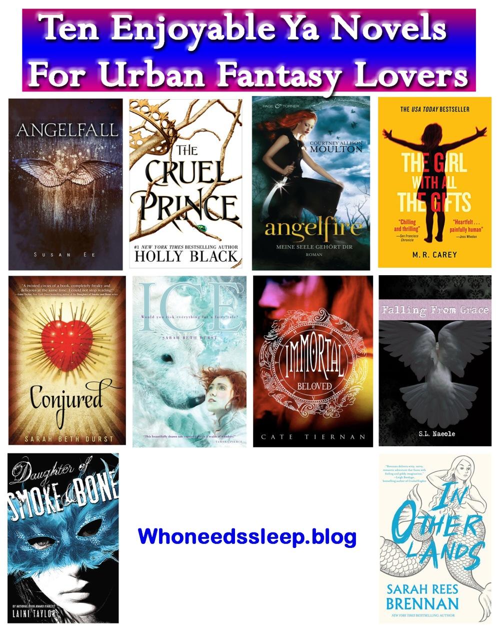 urban fantasy 10
